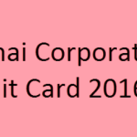 Chennai Corporation AE Admit Card 2016 Download For Sanitary Inspector