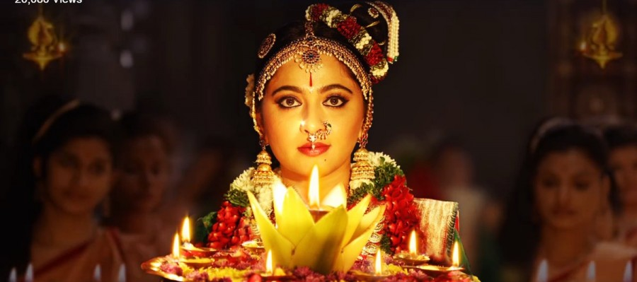 Anushka Shetty First Look Released From Om Namo