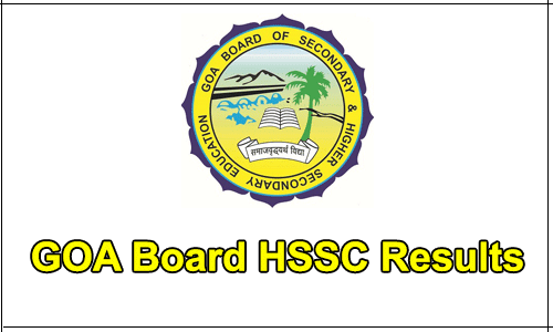 Goa Board HSSC Results 2017 to be declared tomorrow on gbshse